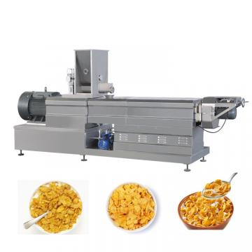 Round Shape Rice Crackers Chips Bited Making Machine